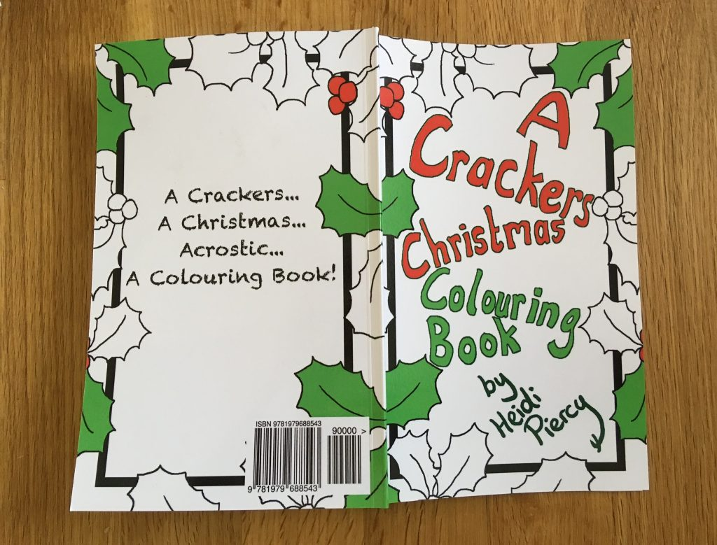 A Crackers Christmas Colouring Book by Heidi Piercy