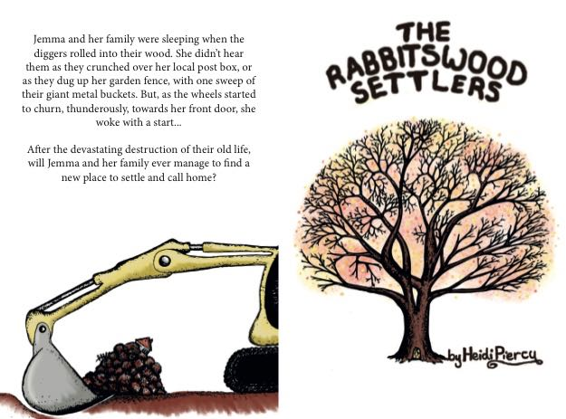 The Rabbitswood Settlers by author and illustrator Heidi Piercy
